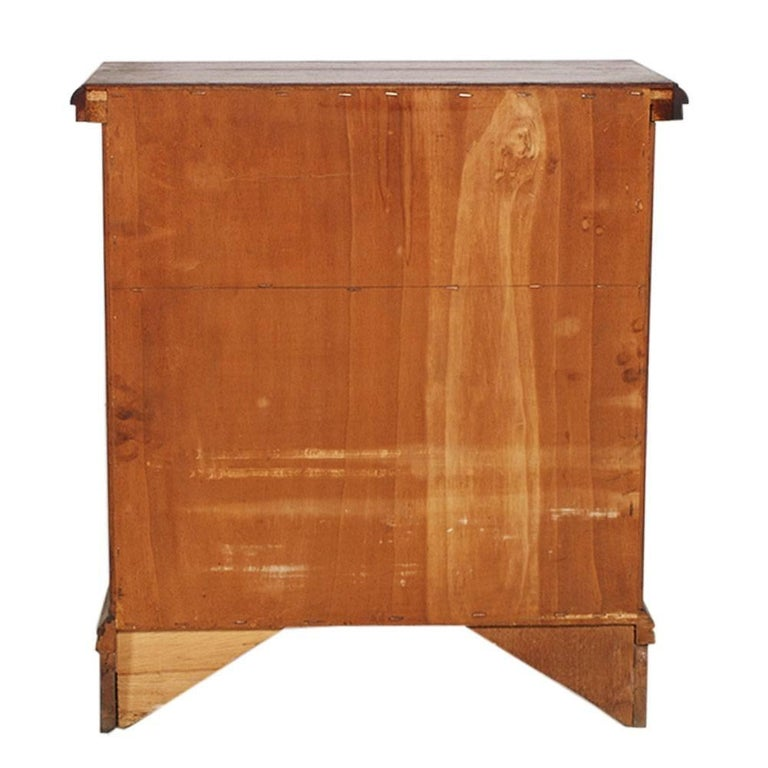 Renaissance Revival Mid-Century Modern Italian Cabinet, Nightstand, Renaissance Style For Sale