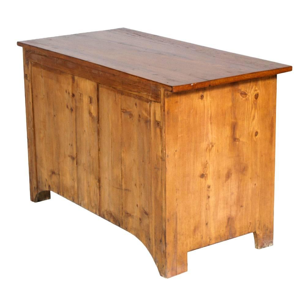 Antique country Tyrol Little Cabinet Credenza Arte Povera in Pine ...