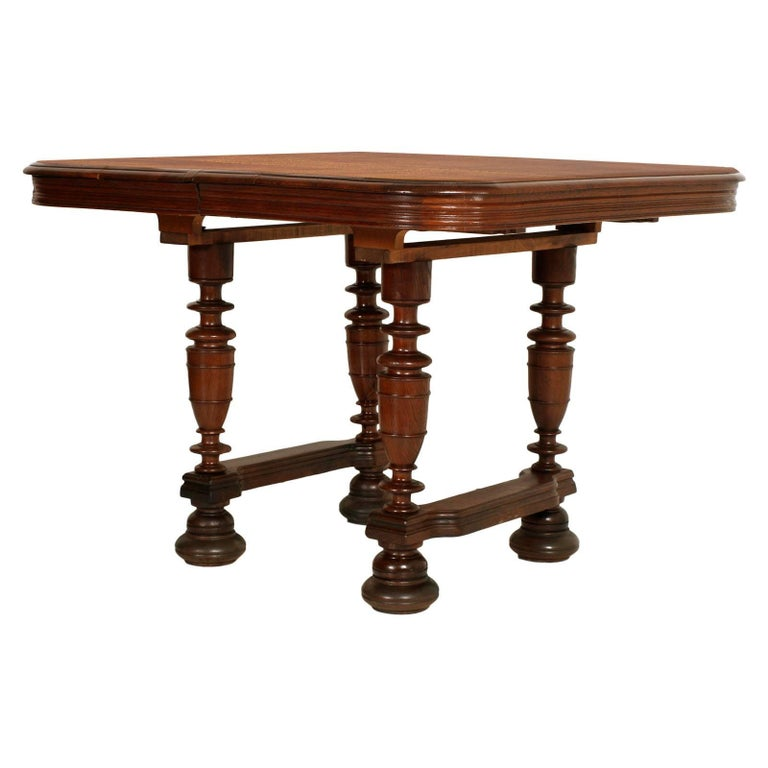 19th Century France Provencal Extendable Table Solid Oak, Restored, Wax-Polished