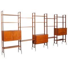 Italian Midcentury Permanente Mobili Di Cantu Bookshelf Franco Albini Style