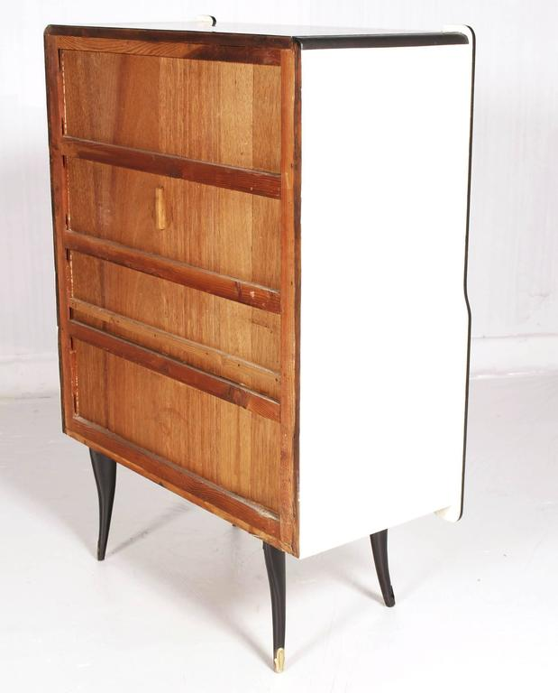 Art deco venetian bar cabinet design 1940 vittorio dassi - Mobili art deco ...