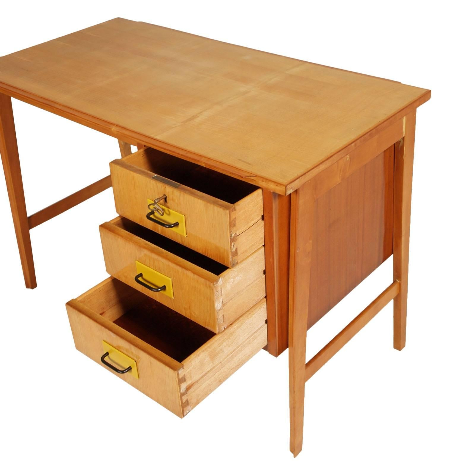 whiteline american by large desk discount furniture elm with new drawers products modern drawer