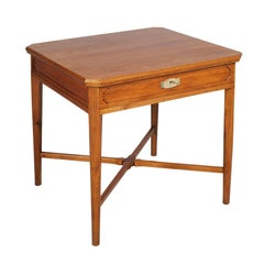 Last 19th Century Modernist Desk Table, Rovere, Attributable Wiener Werkstätte