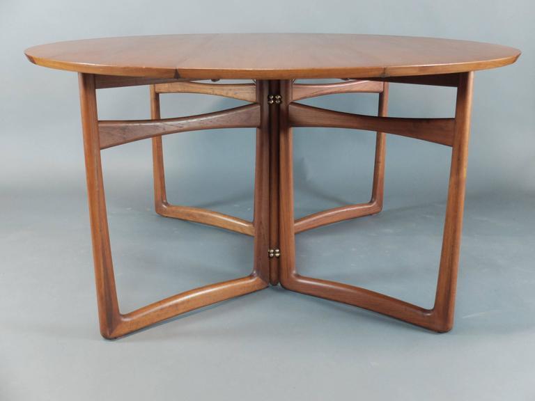 Danish Teak Dining Table by Peter Hvidt & Orla Molgaard Nielsen for France & Son 4