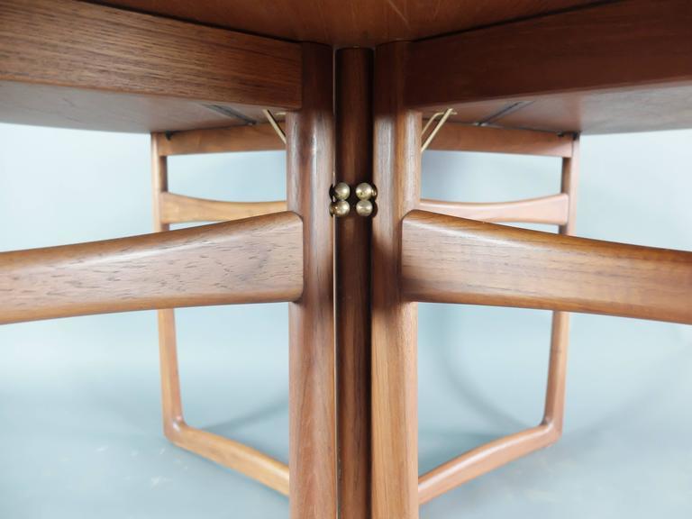 Danish Teak Dining Table by Peter Hvidt & Orla Molgaard Nielsen for France & Son 6
