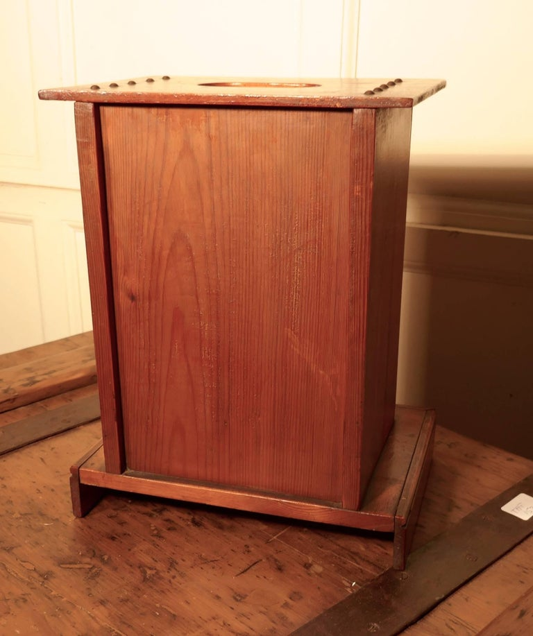 English Victorian School House Letter Box, Post Box, 19th Century Post Box, Mail Box For Sale