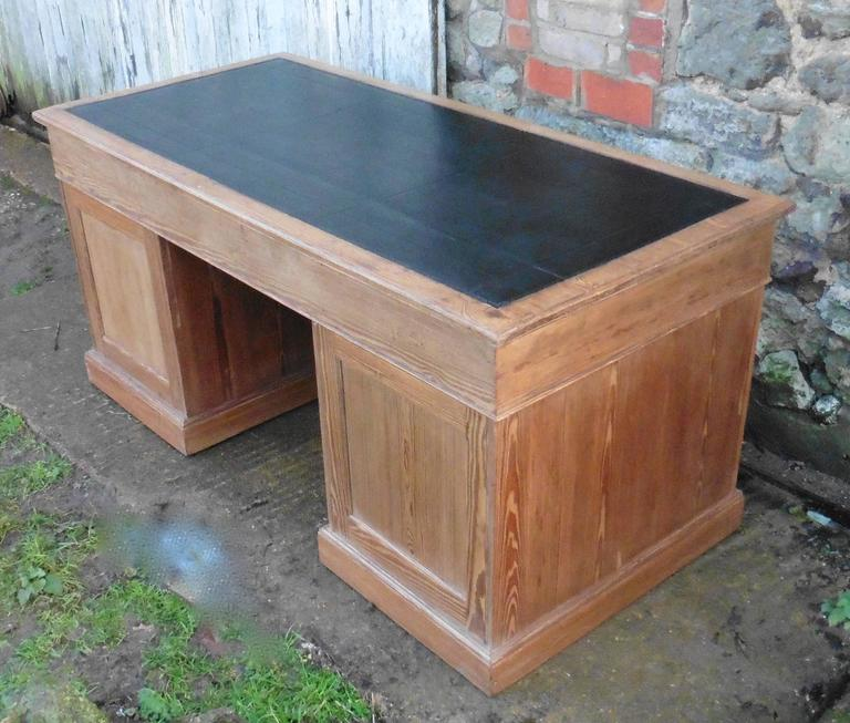This Is A Very Good Quality Heals Old Barristers Desk And It Much Larger Than