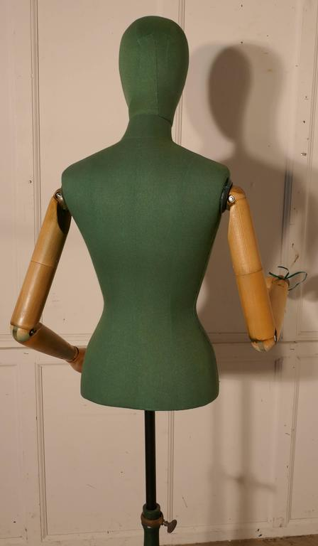 Quirky green vintage mannequin by stockman taylor s dummy for Quirky items for sale
