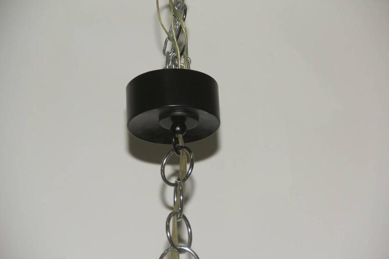 Minimal elegant ceiling lamp Sciolari, 1960s, Italian design, 18 lights.