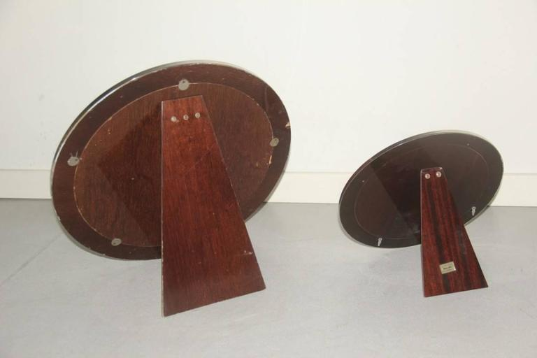 Round Mirrors of Drawers, 1960 Attributed Sergio Mazza In Good Condition For Sale In Palermo, Sicily