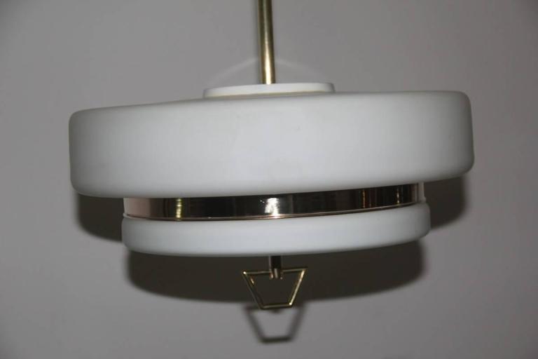 Mid-20th Century Italian Mid-Century Ceiling Lamp Stilnovo Design For Sale