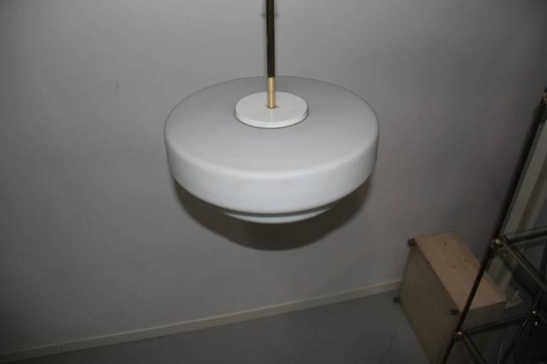 Italian Mid-Century Ceiling Lamp Stilnovo Design For Sale 1