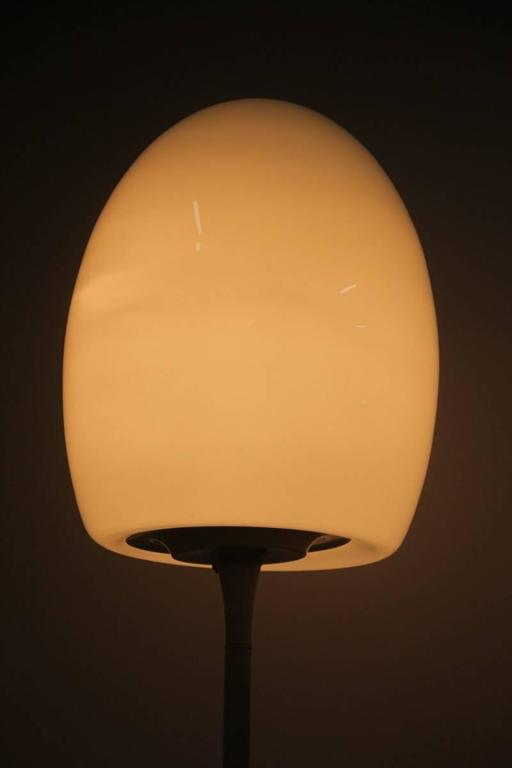 Particular floor lamp 1960s Italian design, attributed to Fontana Arte design.