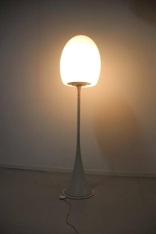 Floor Lamp 1960s Italian Design Murano Glass  In Good Condition For Sale In Palermo, Sicily