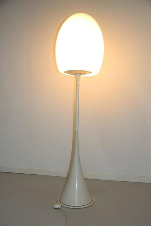 Floor Lamp 1960s Italian Design Murano Glass  For Sale 2