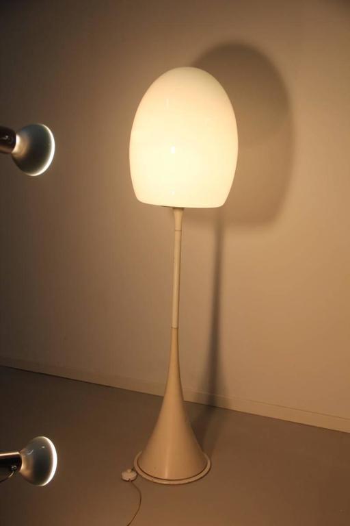 Floor Lamp 1960s Italian Design Murano Glass  For Sale 3