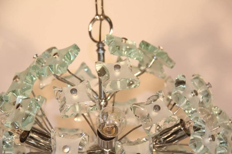 Mid-Century Modern Sputnik Ceiling Lamp Italian Design, 1960s For Sale