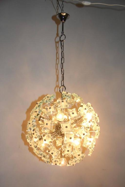 Sputnik Ceiling Lamp Italian Design, 1960s In Excellent Condition For Sale In Palermo, Sicily