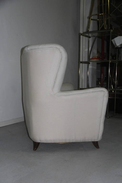 Elegant Small Sofa Guglielmo Ulrich Attributed In Good Condition For Sale In Palermo, Sicily