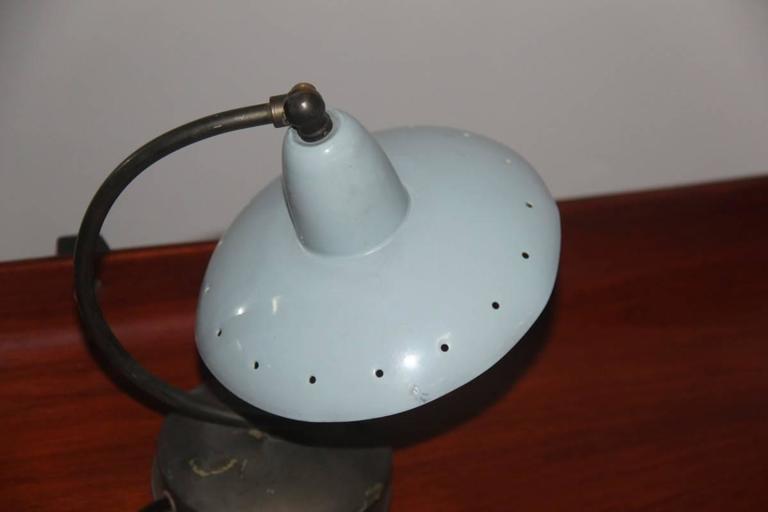 Original Table Lamp Italian Mid-Century Italian Design In Good Condition For Sale In Palermo, Sicily