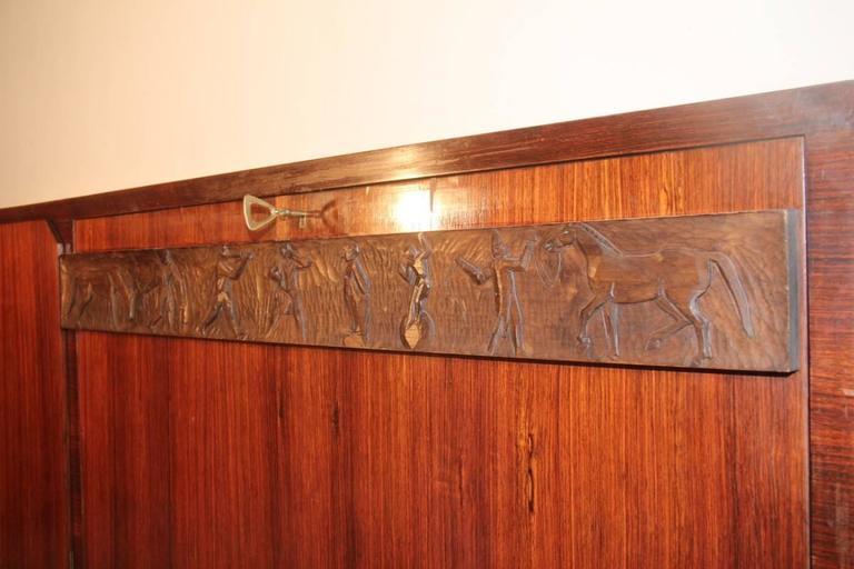 Elegant Sideboard Italian Mid-Century Design For Sale 3