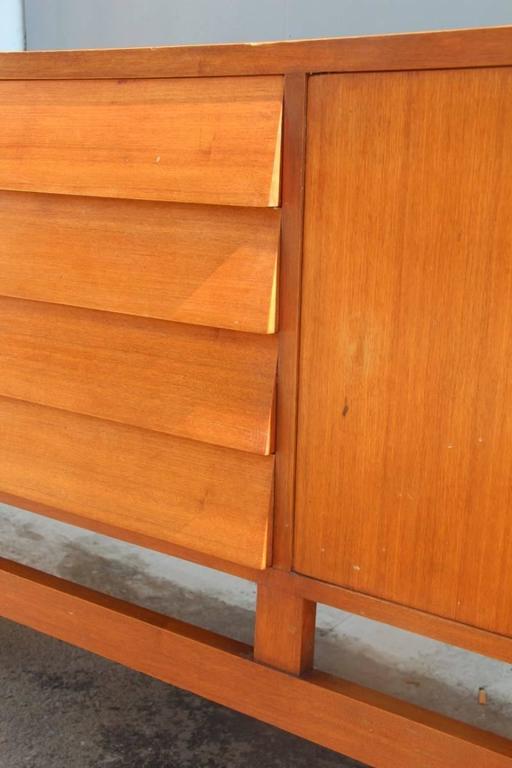 Large Minimal Sideboard Italian Mid Century Design at 1stdibs