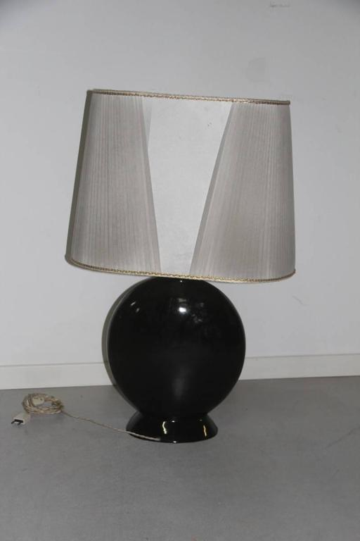 High Quality Table Lamp In Very Chic 1970s Ceramic Table, Table Lamp In Very Chic Ceramic  Table