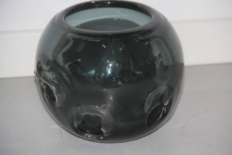 Vases Murano Glass 1960 Ashlar Massive Seguso Attributed For Sale 3