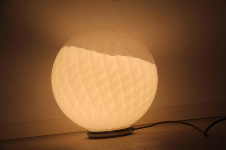 Diaz de Santillana Ludovico table lamp, 1970s.