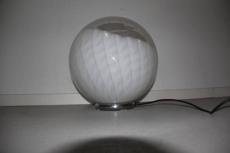 Mid-Century Modern Diaz de Santillana Ludovico Table Lamp, 1970s For Sale