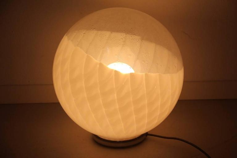 Diaz de Santillana Ludovico Table Lamp, 1970s In Good Condition For Sale In Palermo, Sicily