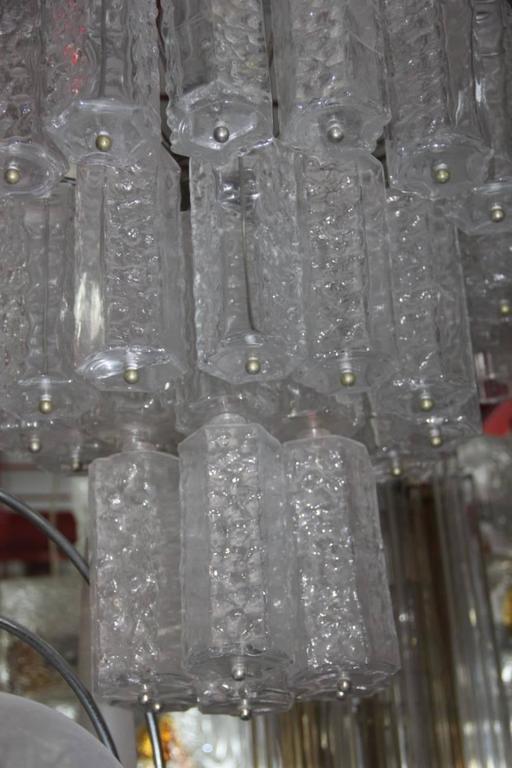 Mid-Century Modern Murano Art Glass Italian Design, Venini, 1960s For Sale