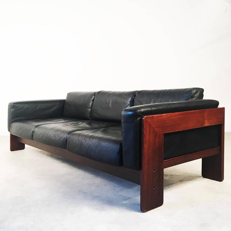 bastiano leather sofa by afra and tobia scarpa made by. Black Bedroom Furniture Sets. Home Design Ideas