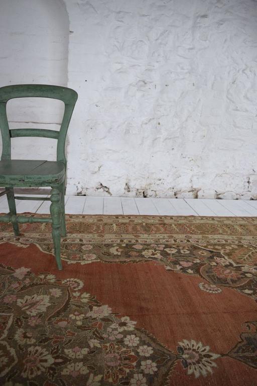 Elegant antique tabriz carpet at 1stdibs - Vintage pieces of furniture old times elegance ...