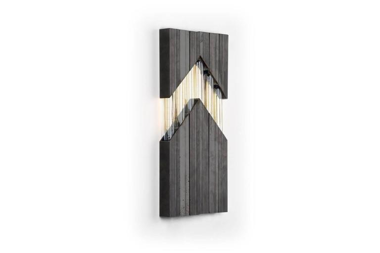chevron  daikon   material options: steel, brass, stainless steel (for brass and stainless see alternate listing)  finish options: steel -- industrial clear, onyx black wax, satin black, matte white brass --brushed brass, polished brass, aged brass,