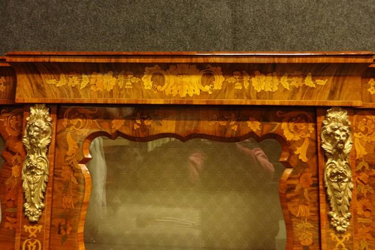 quality of kitchen cabinets outstanding figured walnut and floral marquetry 25033