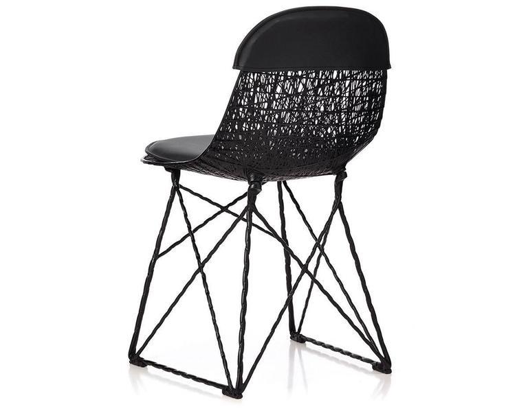 Dutch Moooi Carbon Fiber Dining Chair For Sale