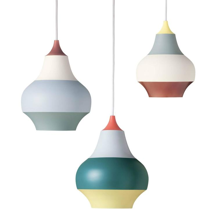 louis poulsen cirque suspension lamp in painted aluminium for sale at 1stdibs. Black Bedroom Furniture Sets. Home Design Ideas