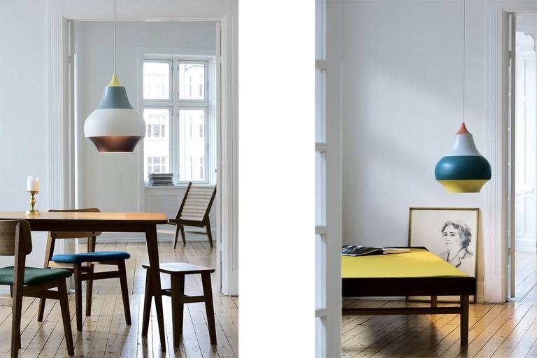 louis poulsen cirque suspension lamp in painted aluminium. Black Bedroom Furniture Sets. Home Design Ideas