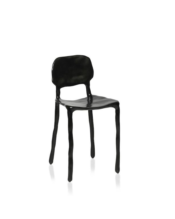 Dhph Clay Dining Chair In Synthetic Clay Over A Metal