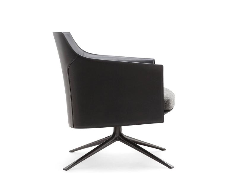 Poliform Stanford Low Back Armchair by Jean-Marie Massaud 2