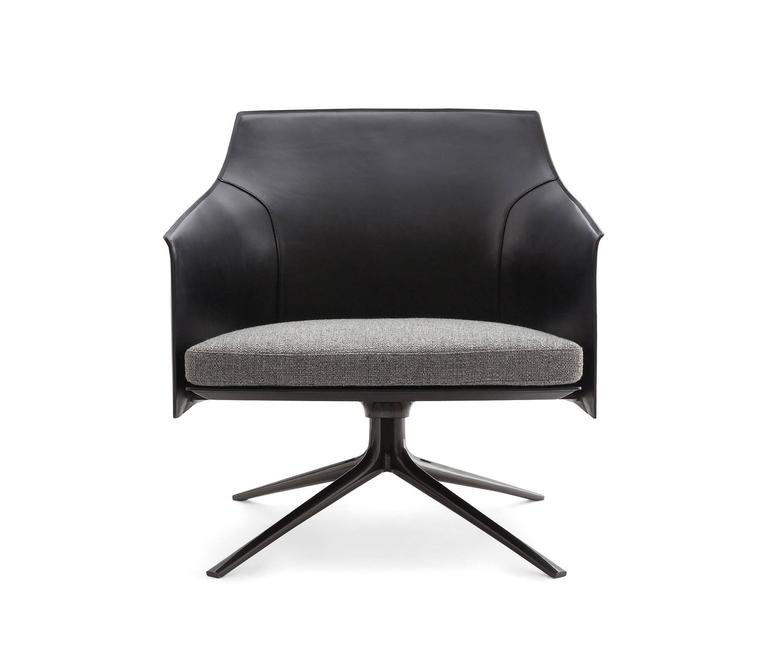 Poliform Stanford Low Back Armchair by Jean-Marie Massaud 3