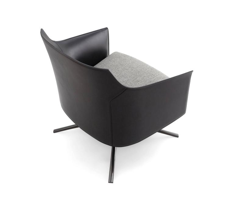 Poliform Stanford Low Back Armchair by Jean-Marie Massaud 4