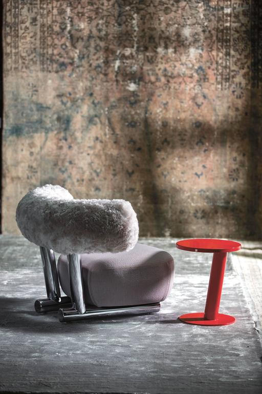 Italian Pipe Chair by Sebastian Herkner for Moroso For Sale