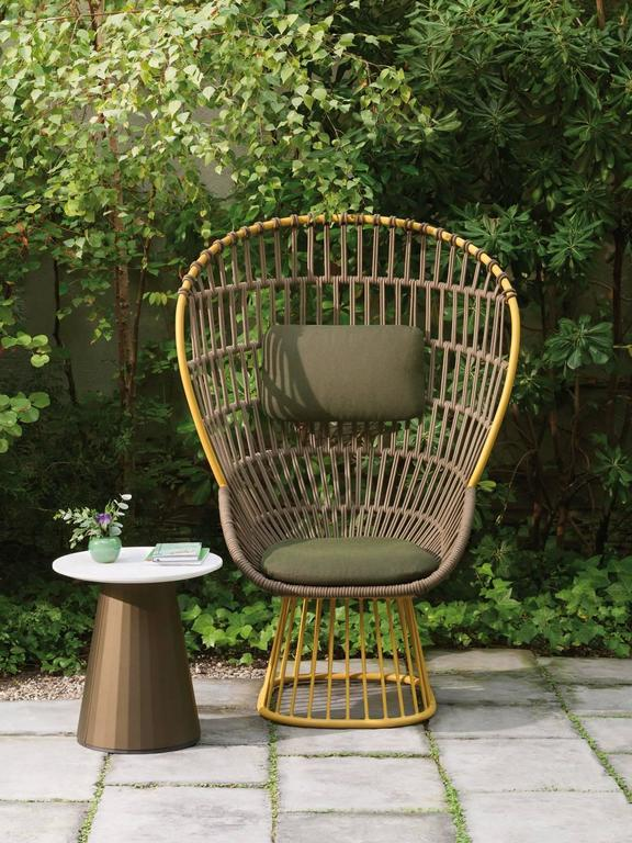 Modern Kettal Cala Armchair for Indoor/Outdoor Use For Sale
