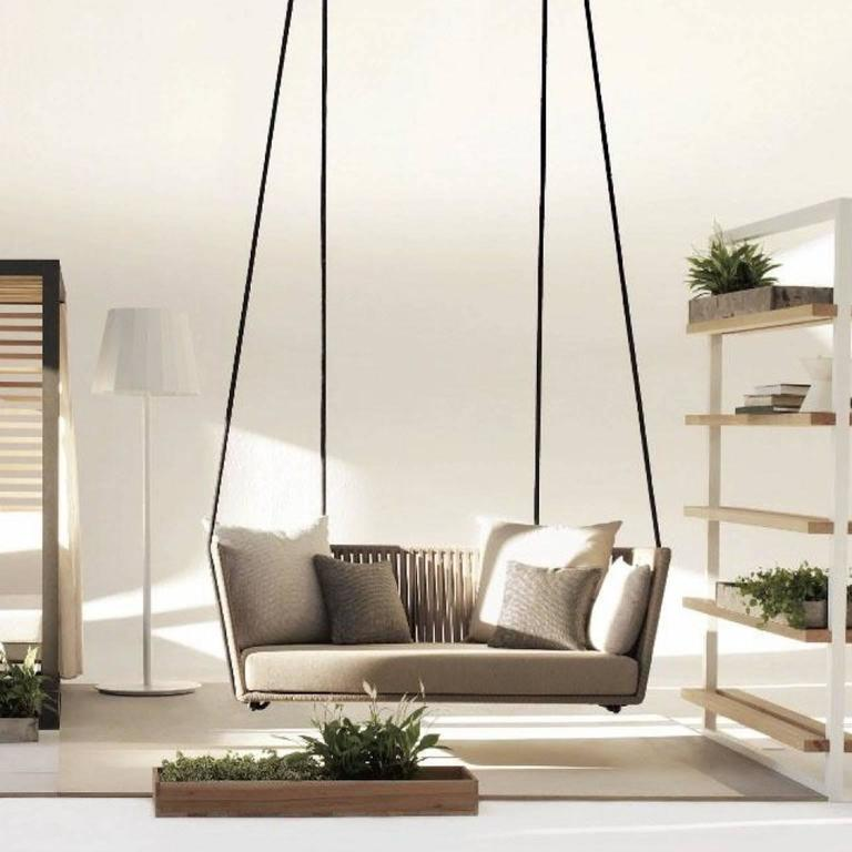 kettal bitta swing for indoor outdoor use for sale at 1stdibs. Black Bedroom Furniture Sets. Home Design Ideas