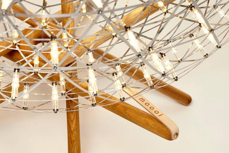 Moooi Raimond Tensegrity LED Floor Lamp by Raimond Puts 3