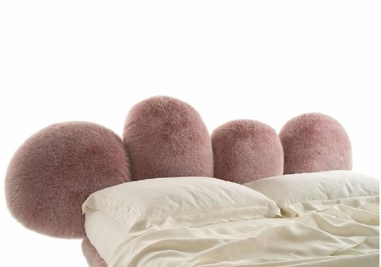Modern Edra Cipria Bed by Fernando e Humberto Campana For Sale