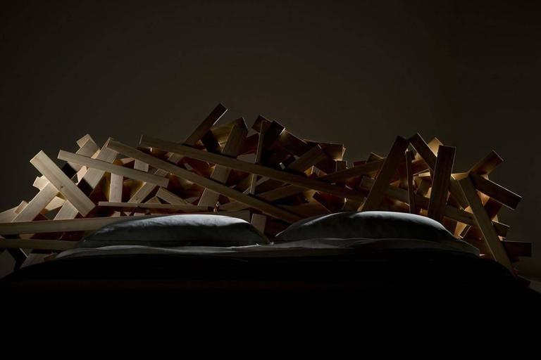 Italian Edra Favela Bed by Fernando and Humberto Campana For Sale