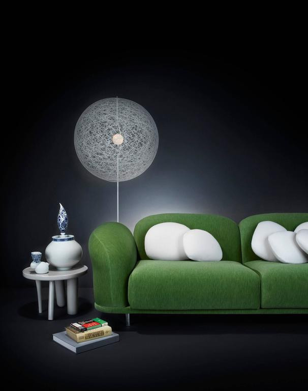 Lacquered Moooi Elements 002 Table by Jaime Hayon in Yellow, Light Grey or Dark Grey For Sale